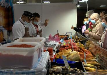 «Икра и рыба Камчатки» начала работу в гранд-отеле «Жемчужина» на выставке-ярмарке  «Православие-2021» (Под покровом Богородицы).