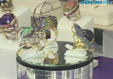 Сочинцы купаются в бриллиантах: на курорте состоялось торжественное открытие уже 19-ой Международной выставки «ИнтерЮвелир«