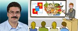 Доклад начальника управления потребительского рынка и услуг администрации города Сочи на круглом столе выставки «Продукты питания-2017»
