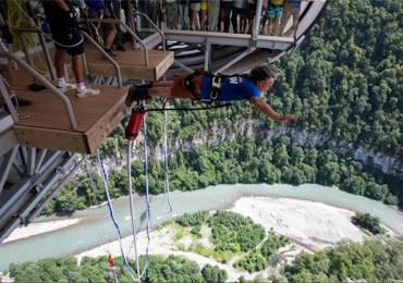 Супер-розыгрыш сертификата на прыжок BUNGY 69 с высоты 69 метров в парке развлечений Skypark.