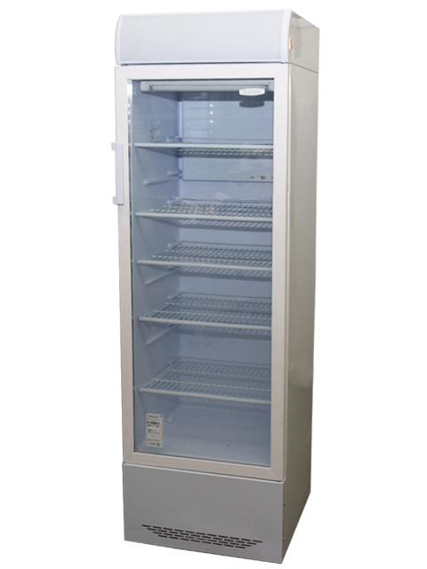 Холодильник со стеклянной дверью «Бирюса»