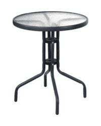 Стол стекло (черный)