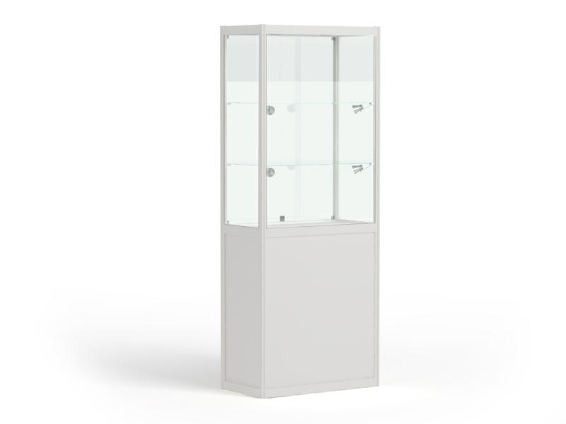 Закрывающаяся витрина (3 полки) со светодиод. линейкой LuxLine 2 шт.