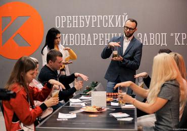Впервые в выставочной экспозиции форума ПИВО примет участие город Оренбург, завод «Крафт», стенд А165.