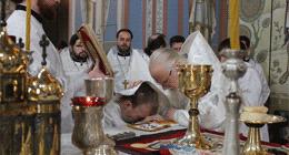 Литургия для участников и гостей Православной выставки