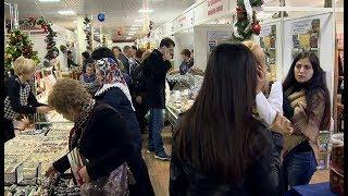 В Сочи работают новогодние выставки-ярмарки. Вести Сочи.