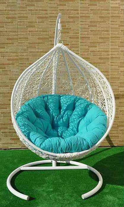 Hanging lounge chair «Drop»