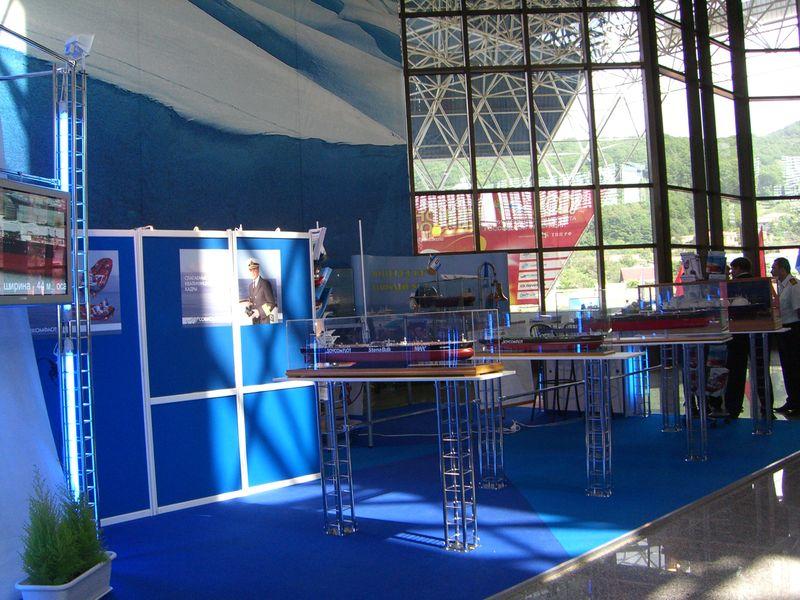 Пример застройки выставочных стендов 1
