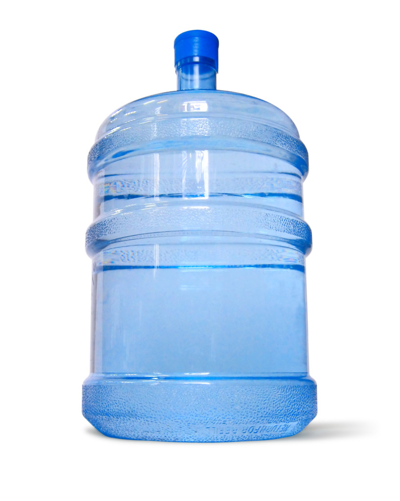 1 bottle of water for Hot & cold water dispenser