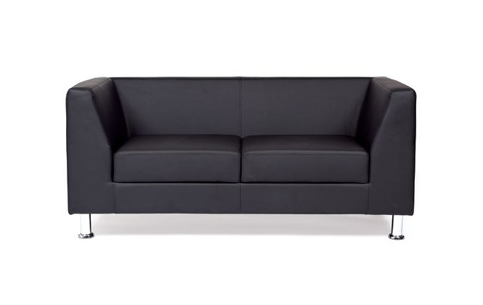 Sofa (black eco-leather)