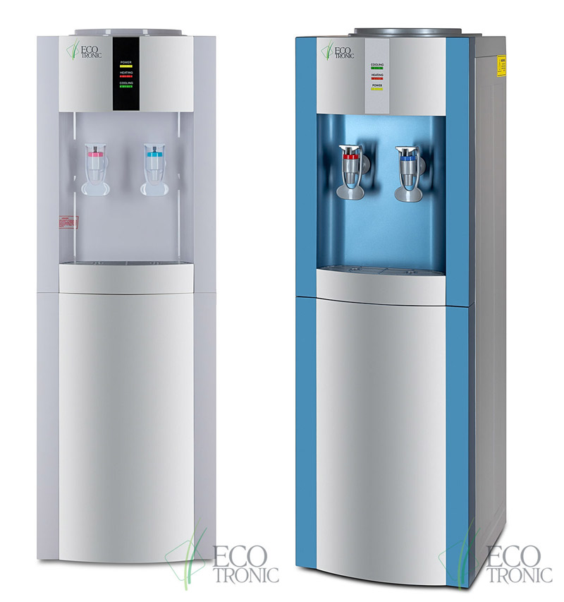 Hot & cold water dispenser (without water, without disposable cups)