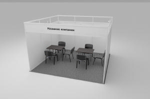 Stand of 13 sq.m. linear - 3,6х3,6 m.
