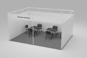 Stand of 18 sq.m. linear - 3,6х4,8 m.