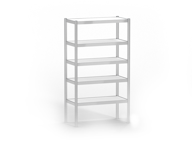 Open rack (5 shelves)