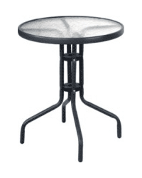 Glass Table (Black)