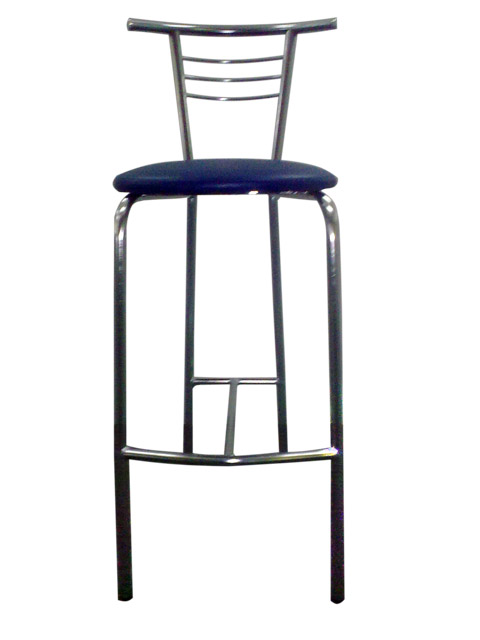 Bar chair blue