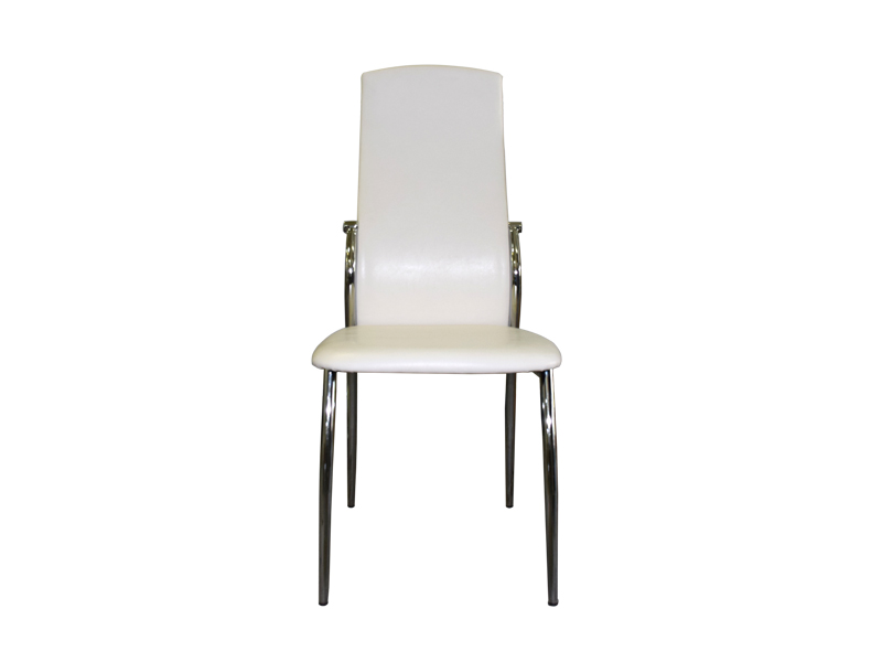 Office chair white (faux leather)