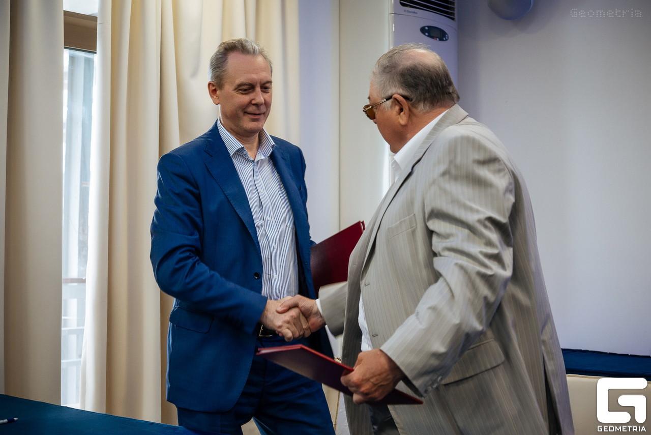 церемония официального подписания Соглашения о взаимодействии между ООО «СОУД – Сочинские выставки» и Союзом Российских Пивоваров на 2018 год